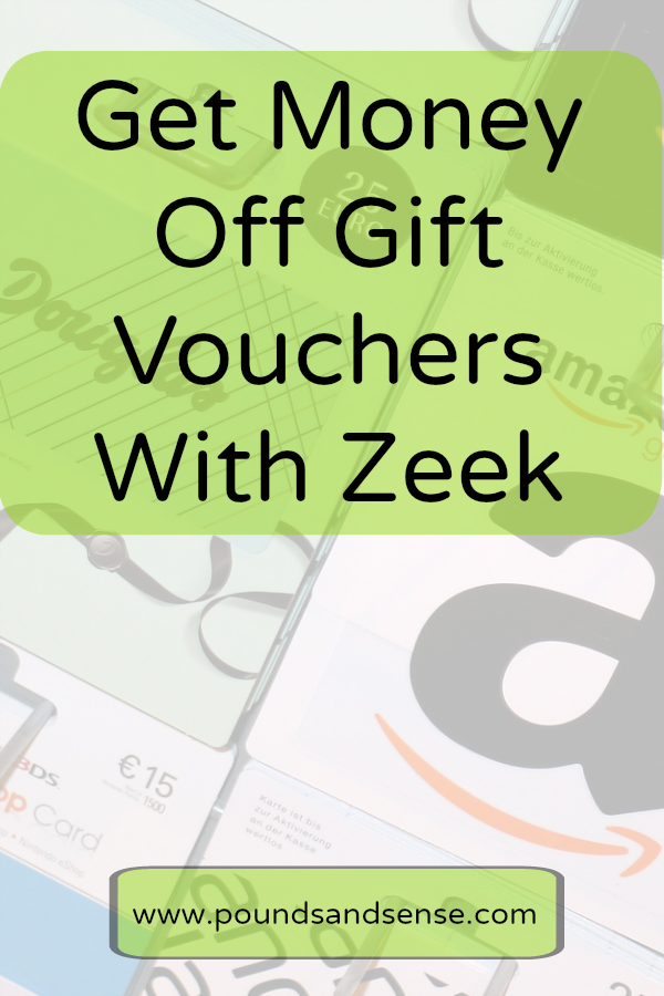 Get Money Off Gift Vouchers with Zeek