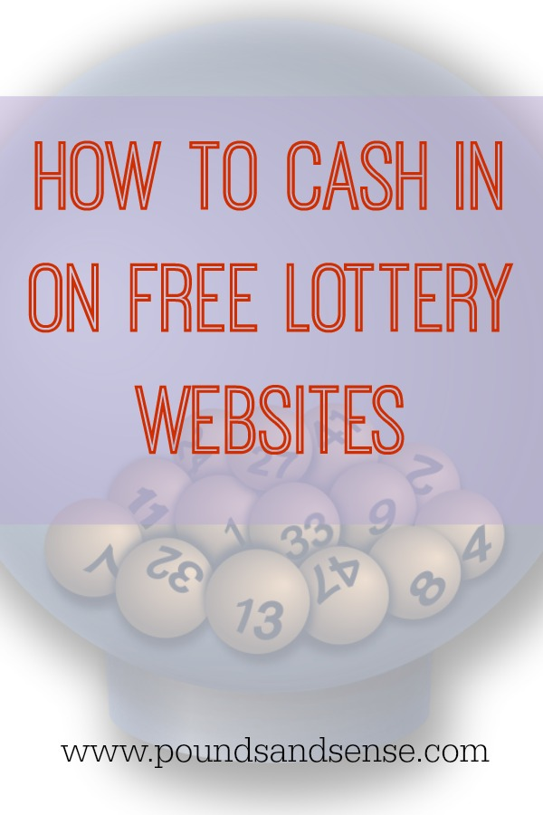 How to cash in on free lottery websites